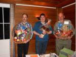 Jahresprogramm Gewinner: v.l. Elmer Peter, Freitag Silvio und Freitag Wolfgang